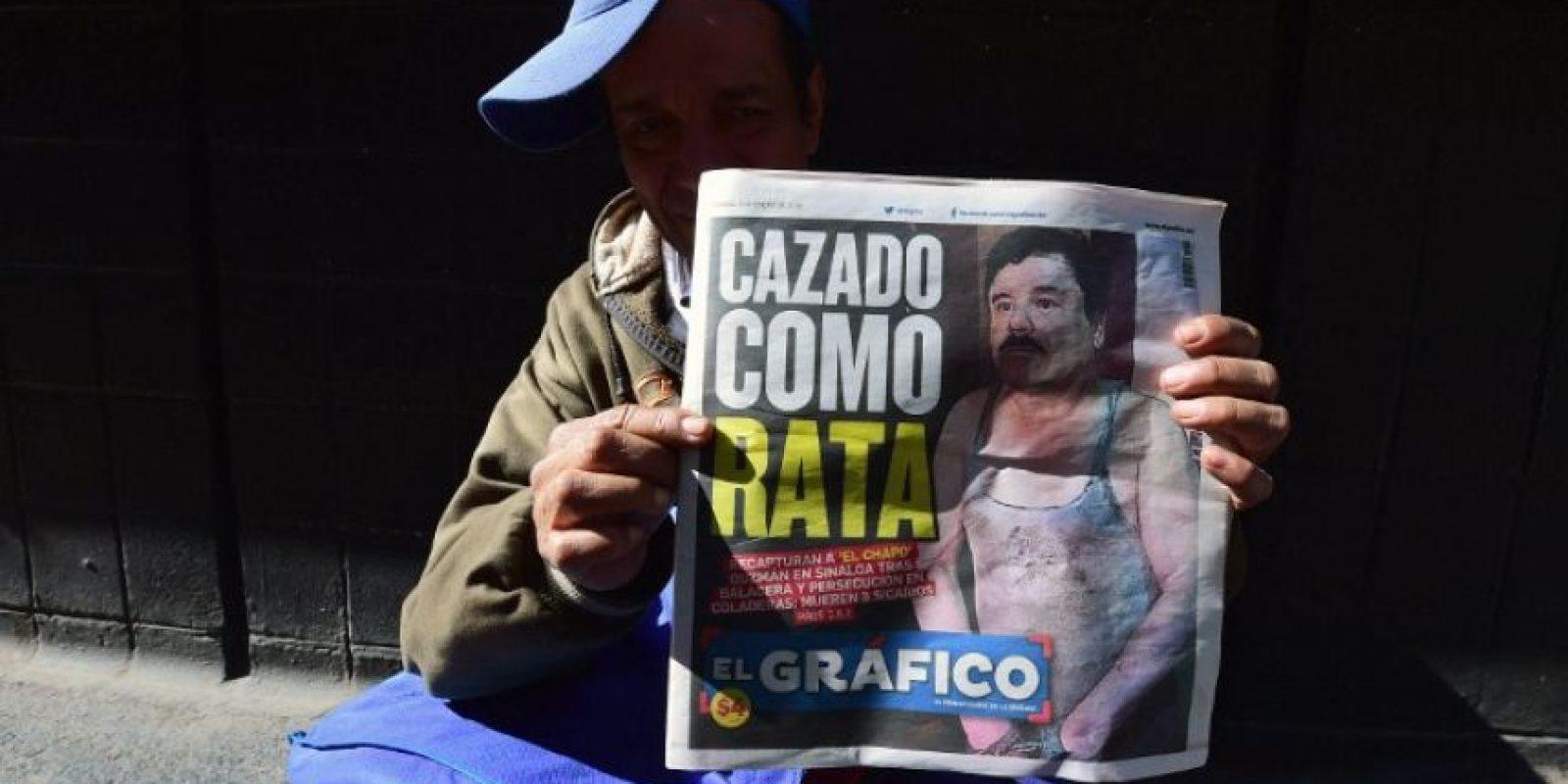 3.- En 1993 fue detenido en Guatemala y enviado al penal de máxima seguridad de Puente Grande en el estado mexicano de Jalisco. Foto:AFP. Imagen Por: