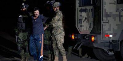 Versiones periódisticas aseguran que los mensajes y el encuentro con la actriz ayudaron a la captura del líder del cartel de Sinaloa Foto:AFP. Imagen Por: