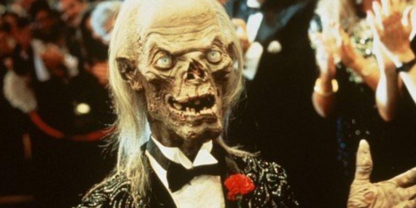 Era el encargado de contar las historias de terror con mucho humor ácido. Foto:vía HBO. Imagen Por:
