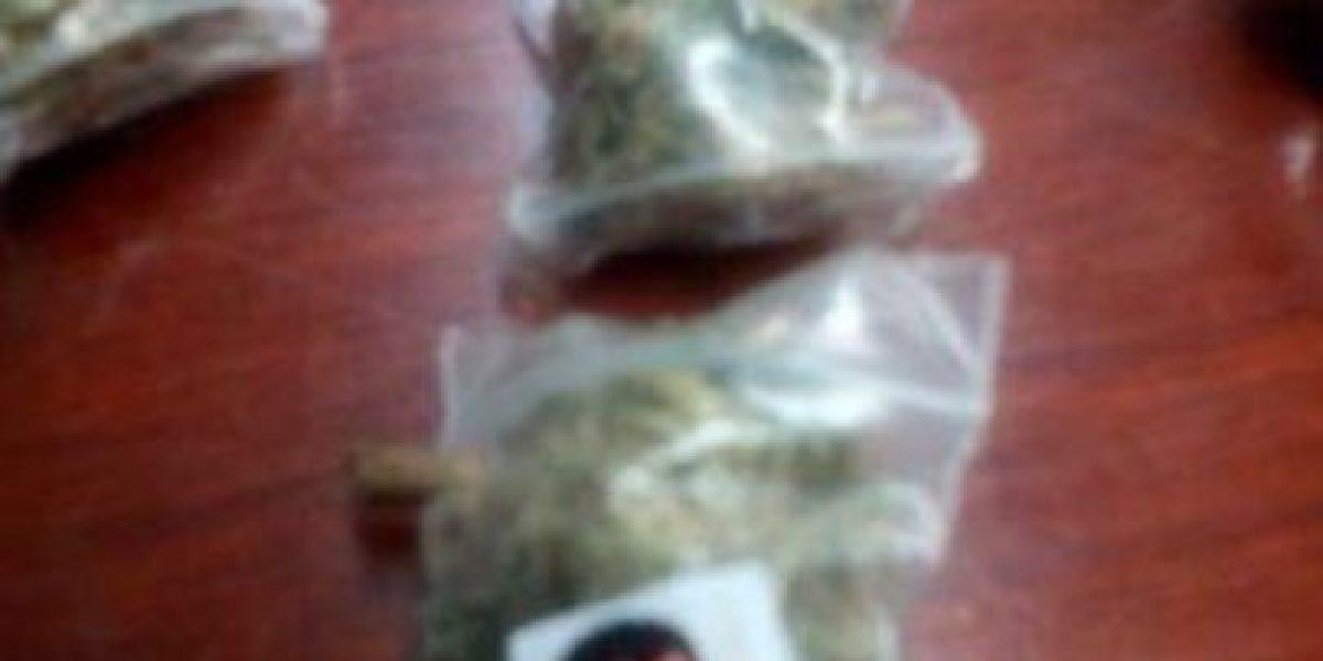Ocupan bolsas de droga con foto de