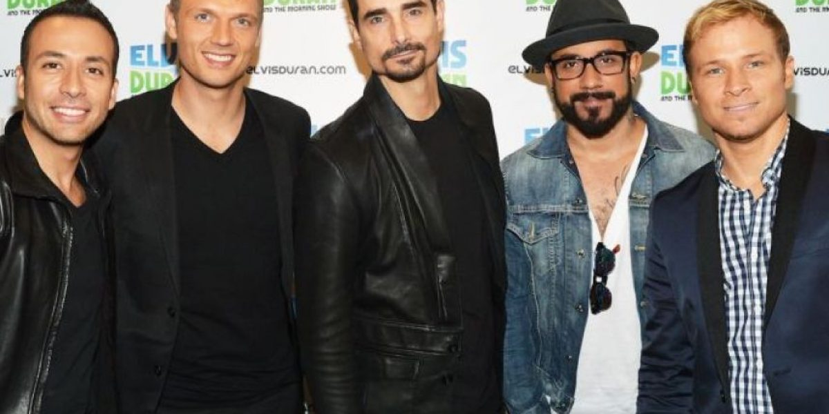 Arrestan en Florida a integrante de la banda Backstreet Boys