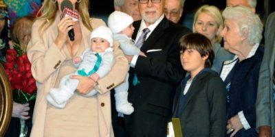 La familia completa en 2011.. Imagen Por: