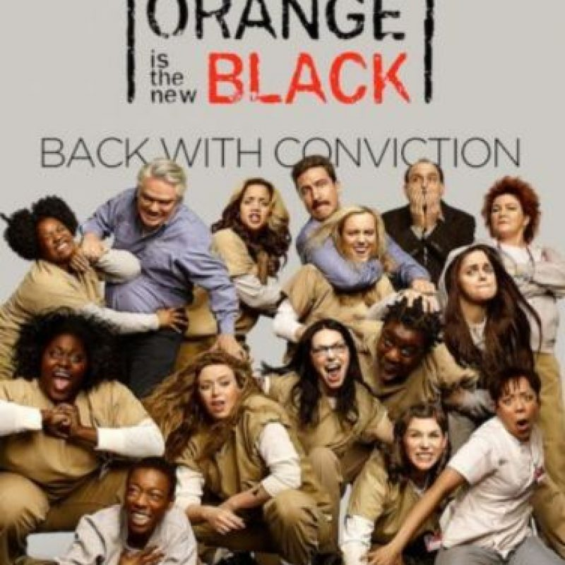 3- Orange Is The New Black (Tres temporadas). Foto: Netflix. Imagen Por: