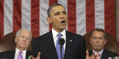 Probablemente no lo han notado, pero volvió a cambiar el tono de su corbata. Foto:Getty Images. Imagen Por: