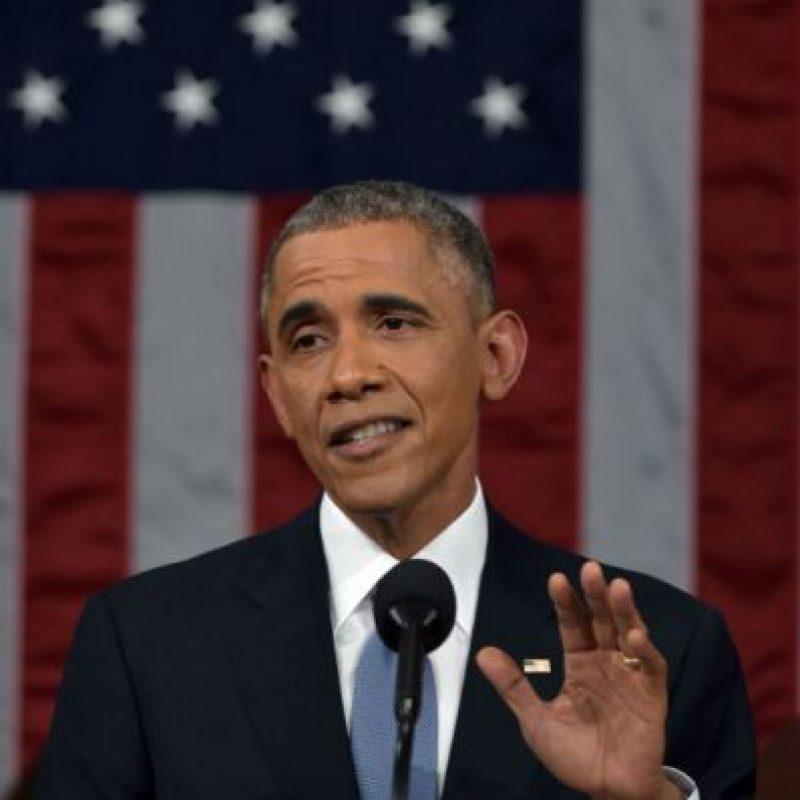 El 2 de abril de 2015, el presidente Obama llegó a un acuerdo histórico con Irán. Foto:Getty Images. Imagen Por: