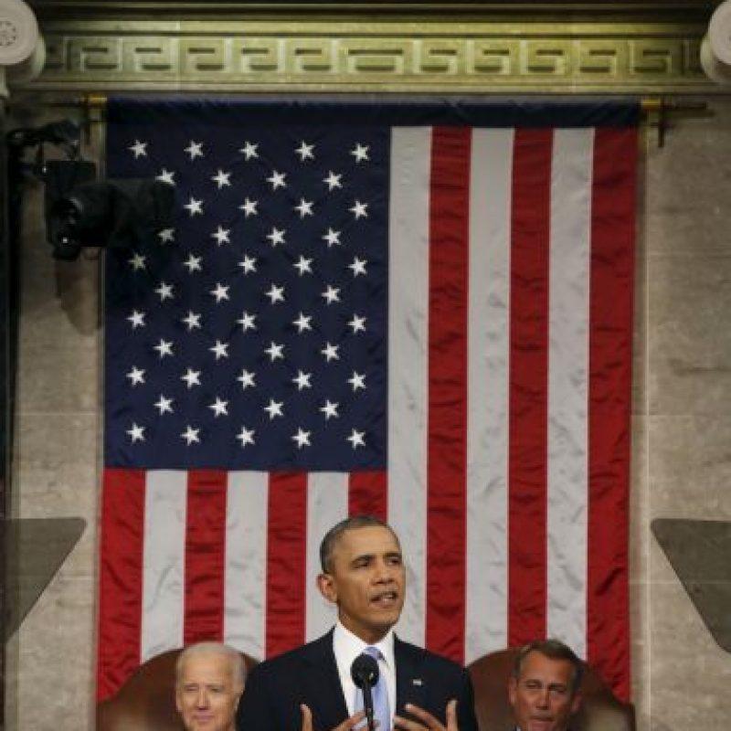 Obama anunció por cadena nacional y al mundo la entrada de los Estados Unidos en el conflicto que Irak vive con el Estado Islámico. Foto:Getty Images. Imagen Por: