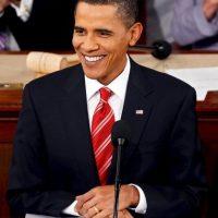 Y había decidido cambiar su corbata. Foto:Getty Images. Imagen Por: