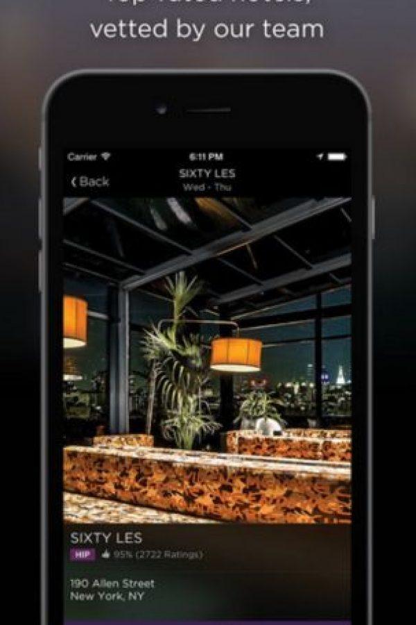 Disponible para iOS, Android y Windows Phone. Foto:Hotel Tonight Inc. Imagen Por: