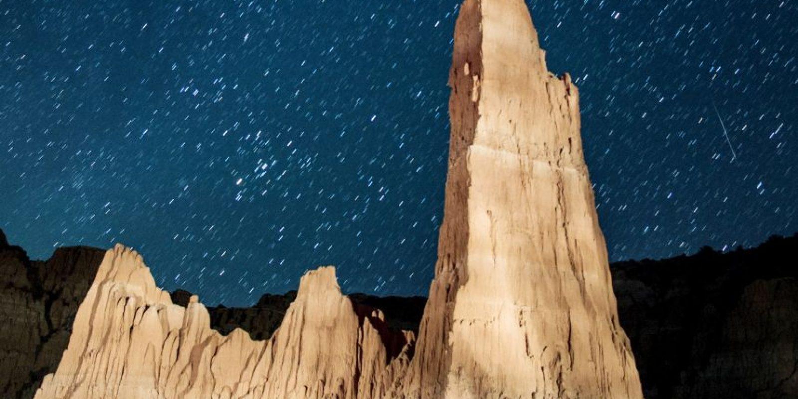 Lluvia anual de meteoritos captada el 12 de agosto de 2013 en Nevada, Estados Unidos Foto:Getty Images. Imagen Por: