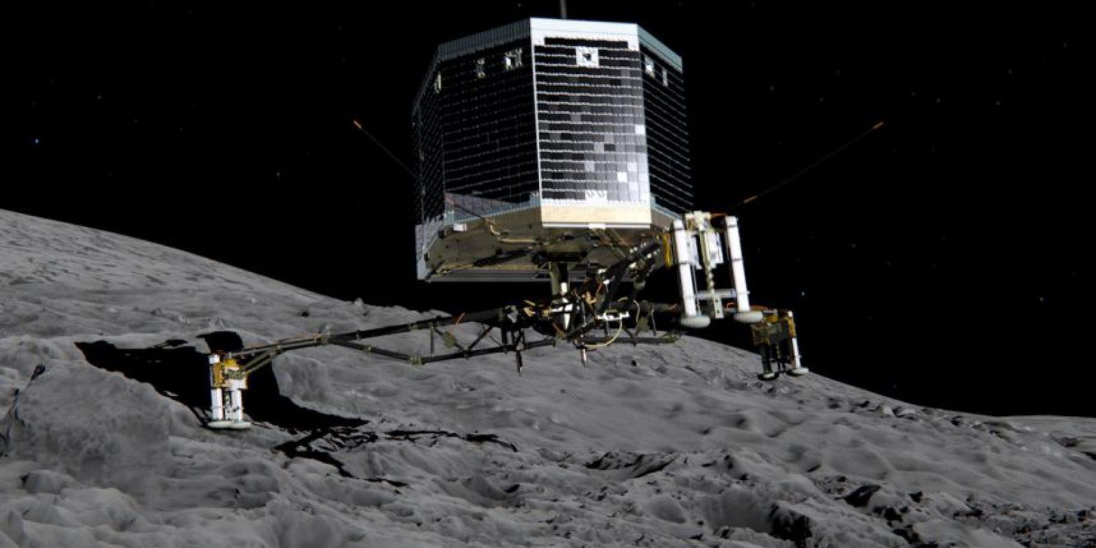 Esta ilustración muestra al Philae, un explorador que está siendo desarrollado por la Agencia Europa del Espacio para investigar cometas Foto:Getty Images. Imagen Por: