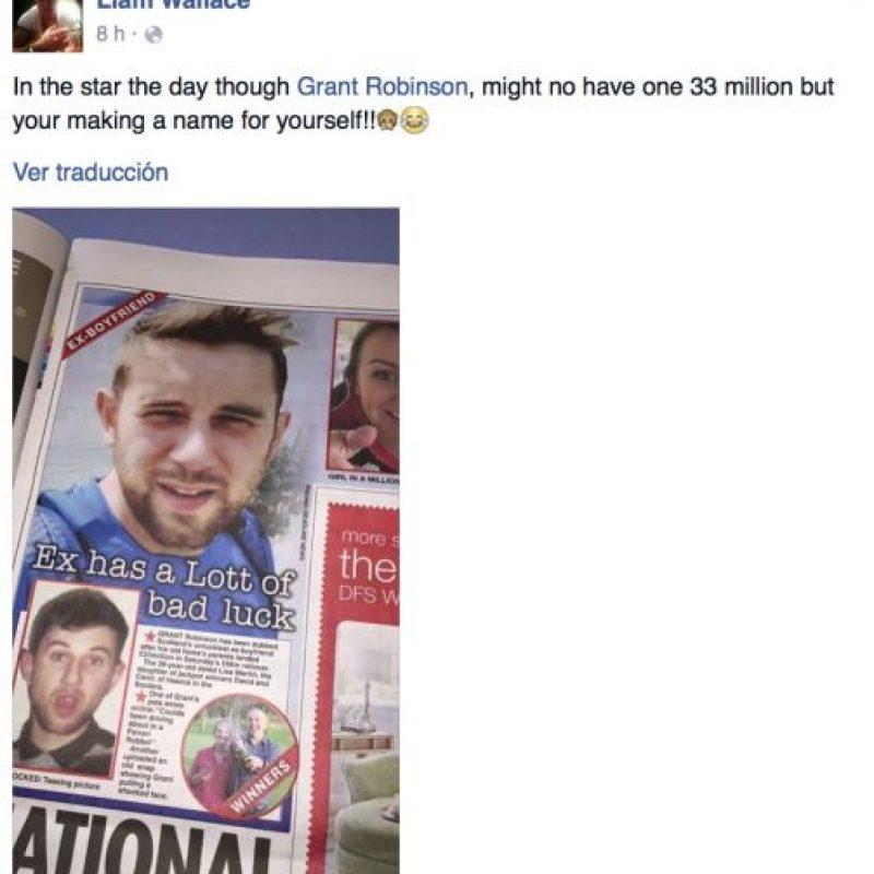 De acuerdo con medios locales, la expareja no tiene ningún contacto. Foto:Vía facebook. Imagen Por: