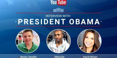 Por esa razón tres youtubers cuestionaron la ideas del mandatario. Foto:Youtube/White House. Imagen Por: