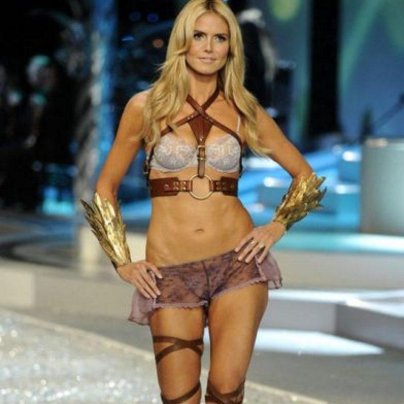 Heidi Klum. Sus piernas han sido ampliamente fotografiadas en el mundo de la moda. Foto:Getty Images. Imagen Por: