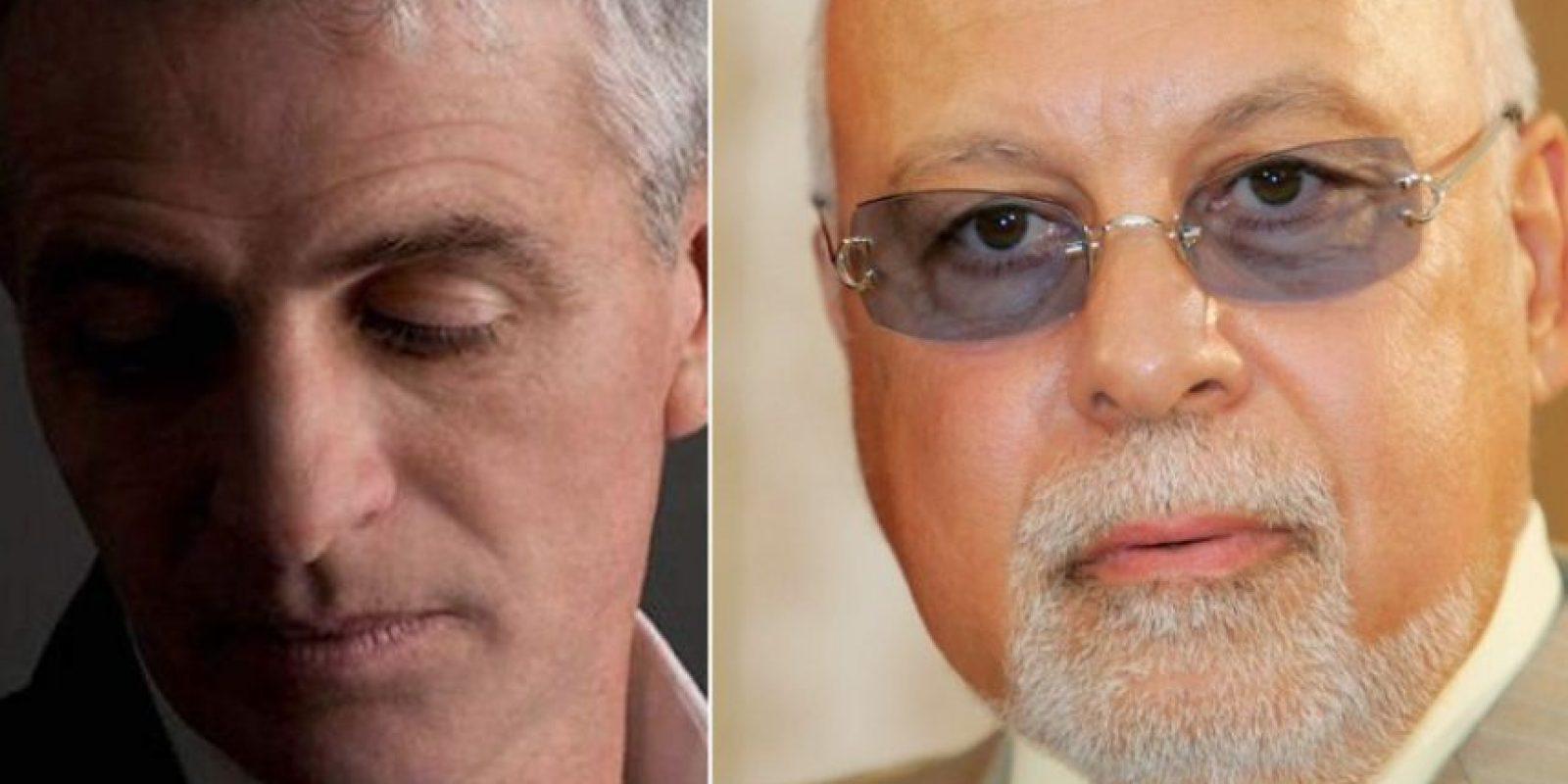 Daniel Dion y René Angélil Foto:Vía Twitter. Imagen Por: