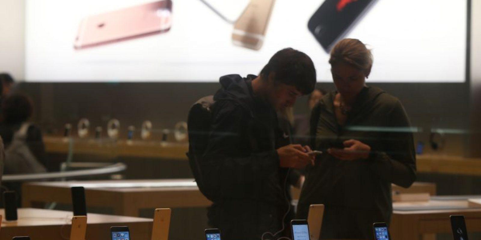 El problema en las apps también se corrigió con iOS 9.1 Foto:Getty Images. Imagen Por: