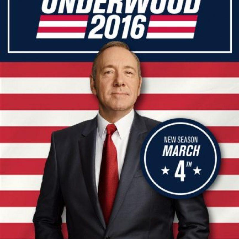 """""""HOUSE OF CARDS"""". Cuarta temporada disponible a partir del 4 de marzo. Foto:Netflix. Imagen Por:"""