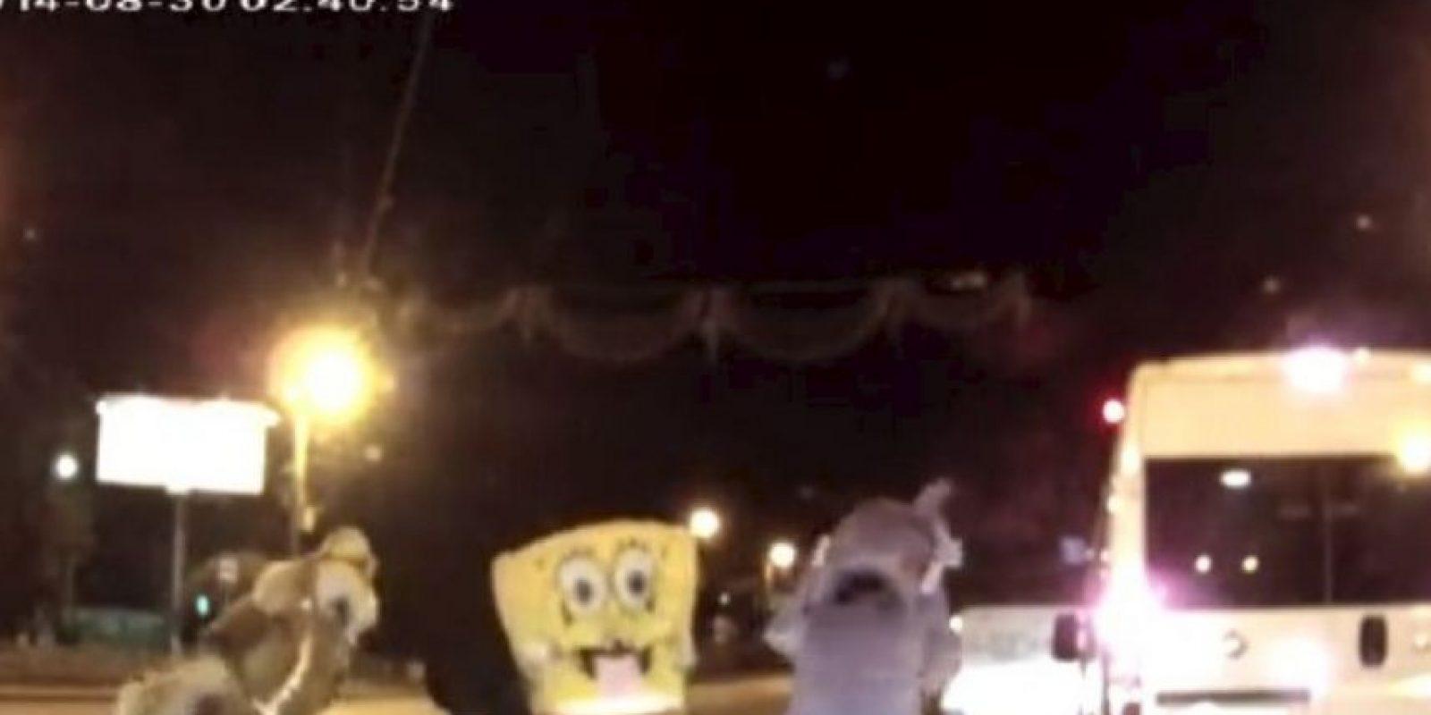 Insólitas peleas callejeras que se han vuelto virales Foto:YouTube-Archivo. Imagen Por: