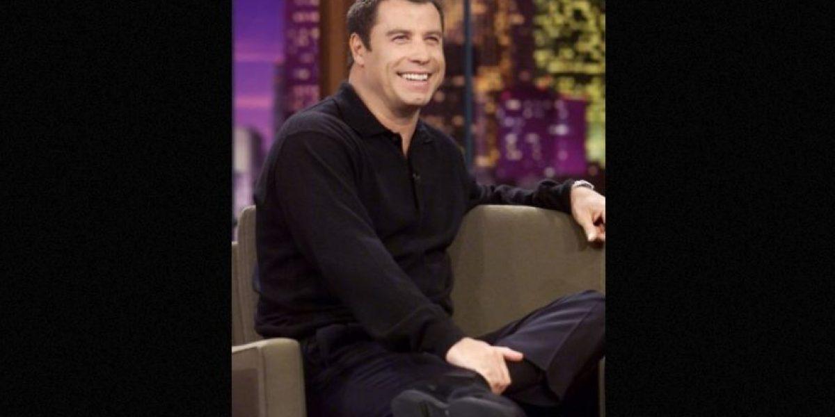 Esta sería la prueba de que John Travolta usa peluquín