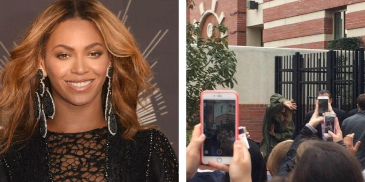 Captan a Beyoncé ensayando para el Super Bowl