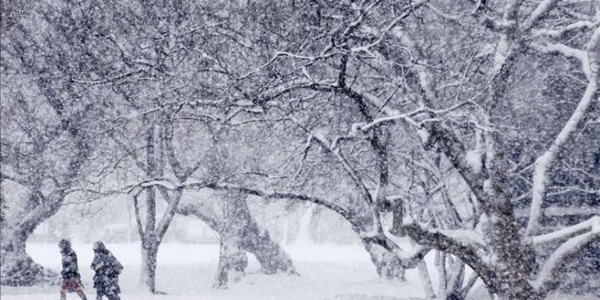 En alerta el este de Estados Unidos ante llegada de tormenta de nieve