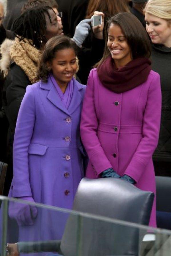 Así han crecido Malia y Sasha Obama en la Casa Blanca Foto:Getty Images. Imagen Por: