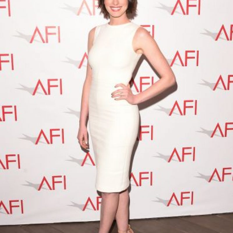 Anne Hathaway: Así lucía antes de su embarazo Foto:Getty Images. Imagen Por:
