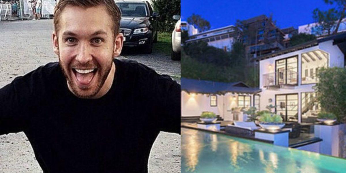 La lujosa mansión que Calvin Harris está vendiendo en 10 millones de dólares