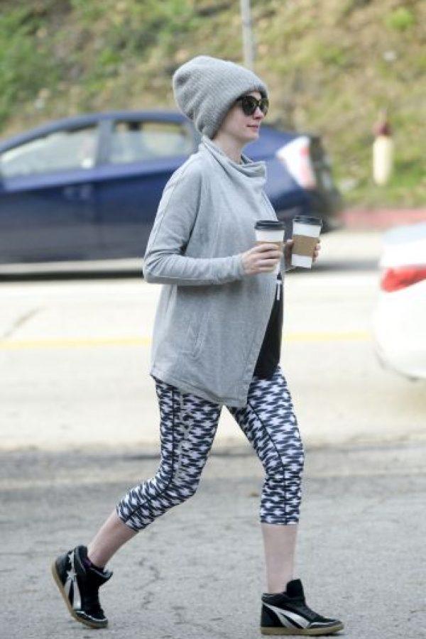 La actriz estadounidense comenzó el año mostrando su pancita en Instagram, donde presumía su embarazo. Foto:Grosby Group. Imagen Por: