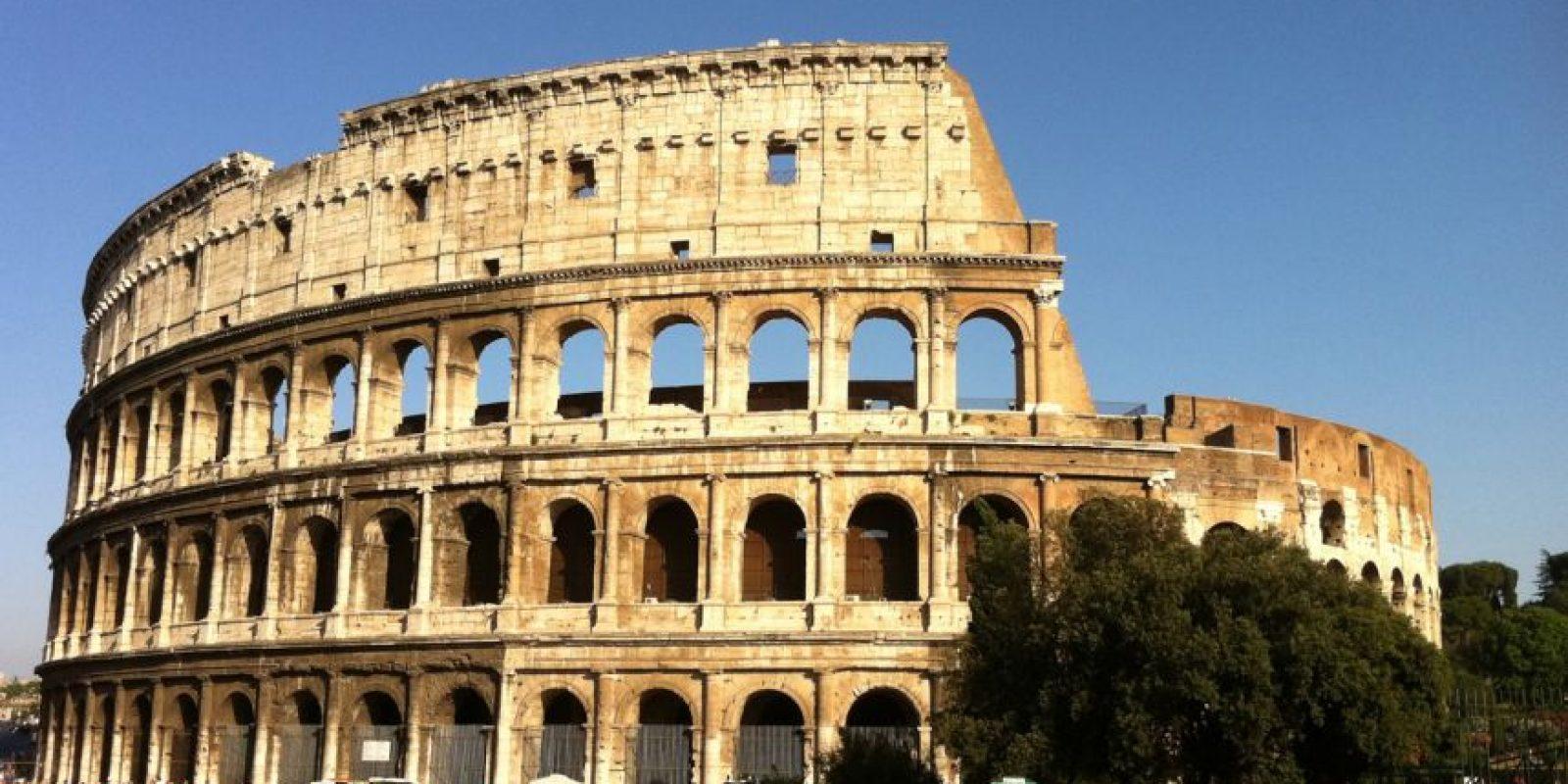 """El Coliseo, Italia, de acuerdo con la revista """"National Geographic"""". Foto:Vía Flickr. Imagen Por:"""