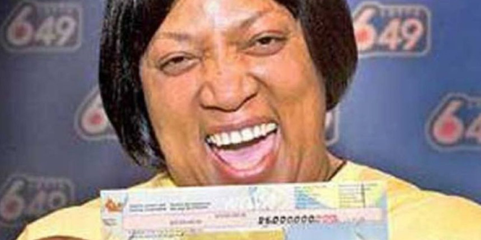 Evelyn Adams ganó casi 6 millones de dólares con los que decidió viajar a Atlantic City y perderlo en apuestas. Foto:Difundir.org. Imagen Por: