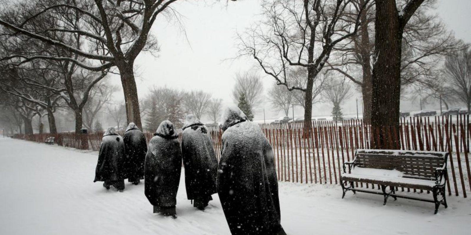 Se espera que haya acumulaciones de nieve de hasta 45 centímetros (1 pie con 5 pulgadas) Foto:Getty Images. Imagen Por: