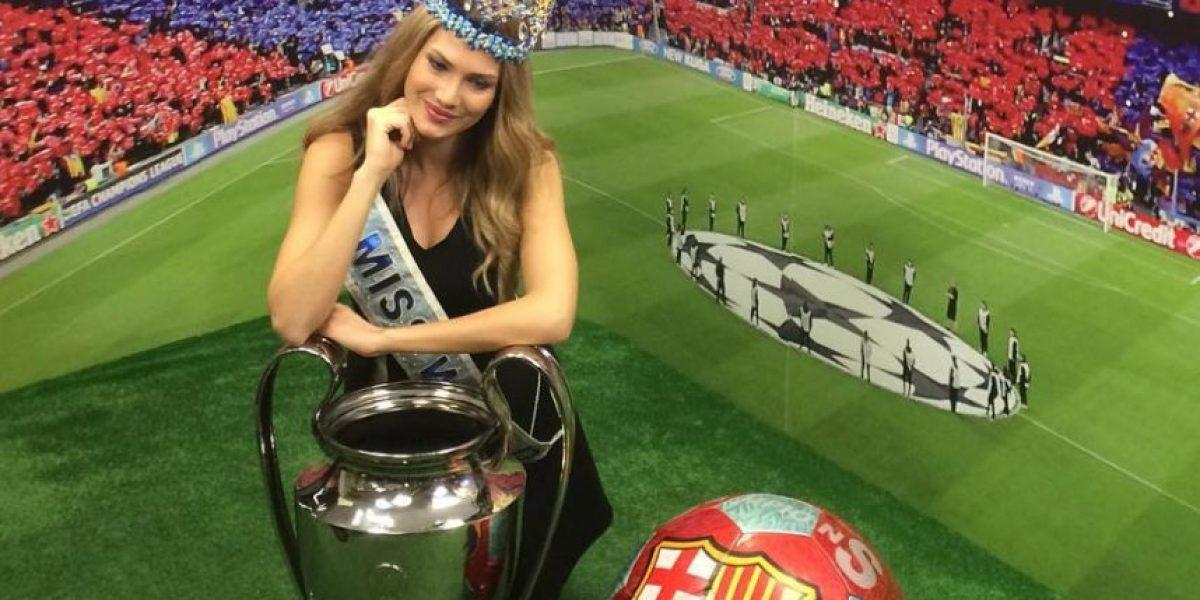 Miss Mundo 2015 sueña con una cena con Lionel Messi