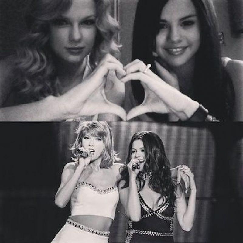 """Nos muestra sus momentos con Taylor Swift, a quien le escribió: """"No puedo entender mi vida sin ti"""" Foto:Instagram.com/SelenaGomez. Imagen Por:"""