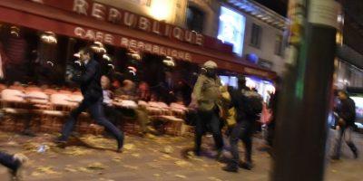 Él se inmoló en una cafetería en el bulevar Voltaire Foto:AFP. Imagen Por: