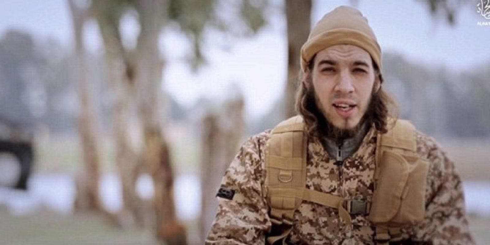Omar Ismail Mostefai, también atacó en el Bataclan Foto:Video de Estado Islámico. Imagen Por: