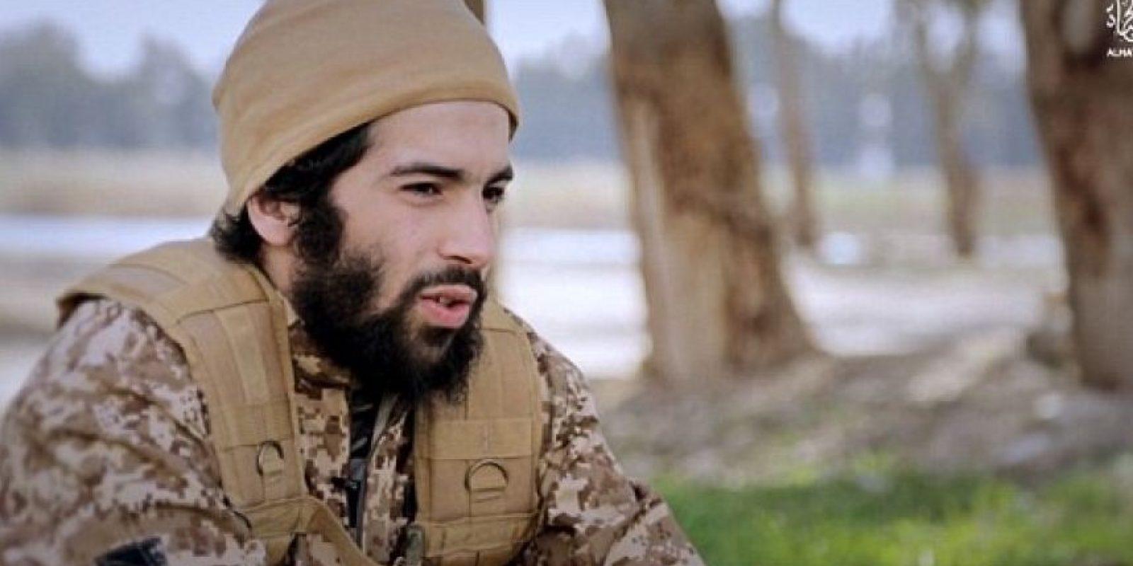 Chakib Akrouh, se hizo explotar días después, en la redada donde murió Abdelhamid Abaaoud Foto:Video de Estado Islámico. Imagen Por: