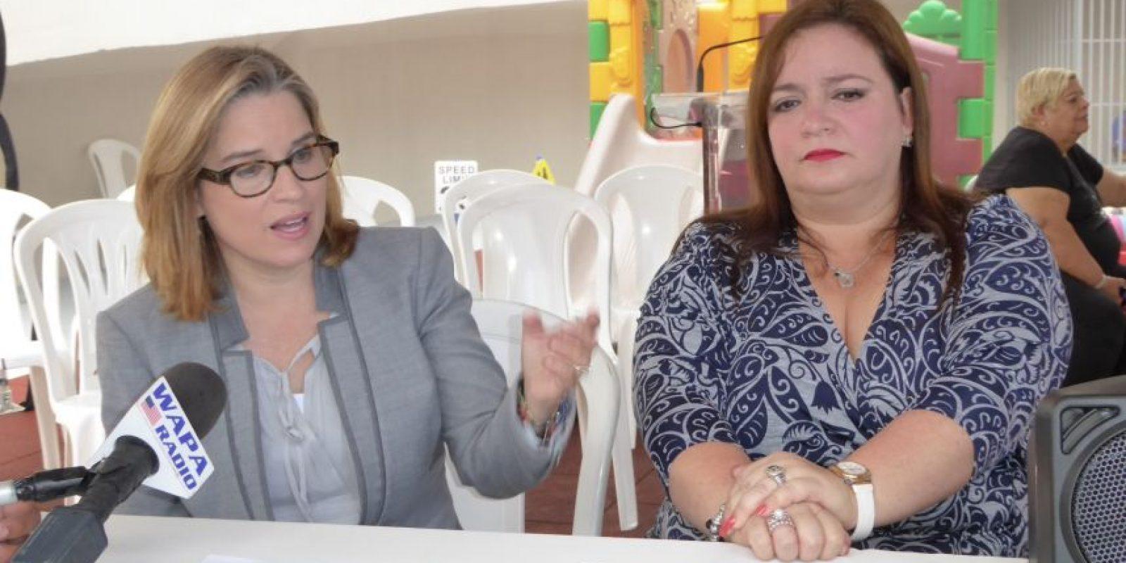 La alcaldesa de San Juan acompañada de la representante Sonia Pacheco, procede con los niños y niñas y algunos padres a la reapertura formal del Head Start, en Río Piedras. Foto:Inter News Service. Imagen Por: