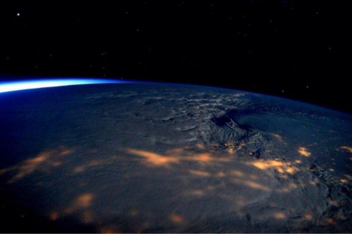 """Y así vio a la tormenta """"Jonas"""" el astronauta Scott Kelly, desde el espacio Foto:Instagram.com/ScottKelly. Imagen Por:"""