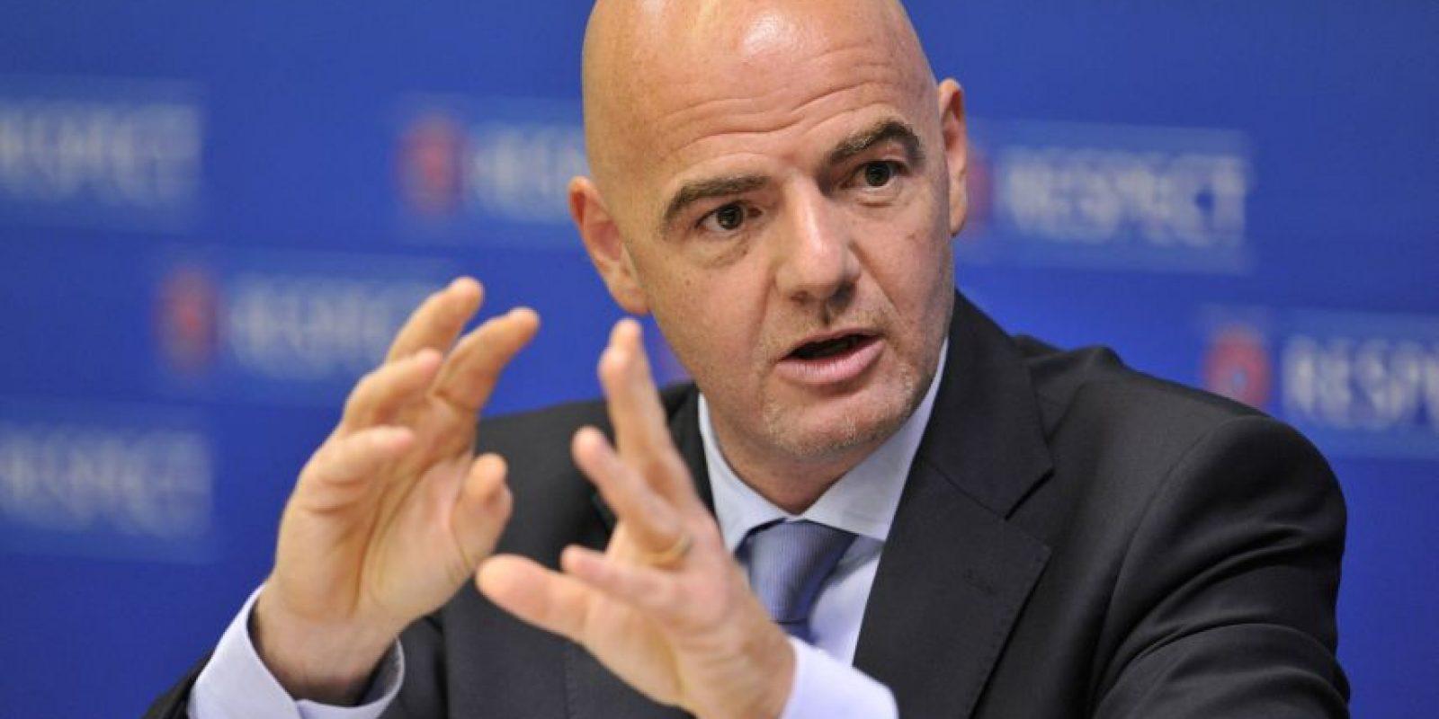 Gianni Infantino, secretario general de FIFA Foto:Getty Images. Imagen Por: