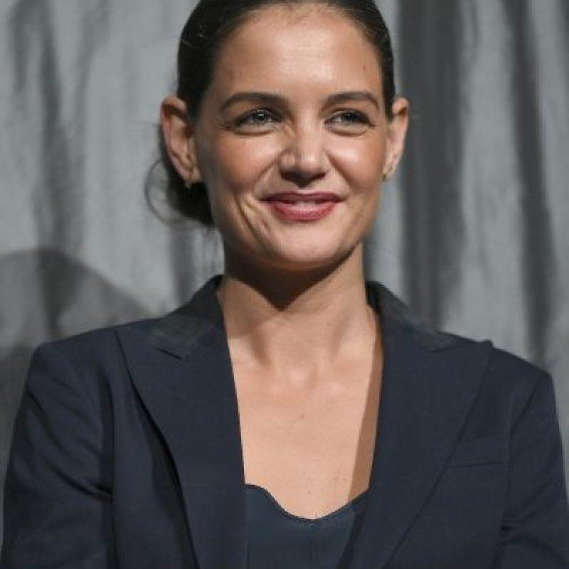 Así lucía katie Holmes poco después de finalizar esta relación. Foto:Getty Images. Imagen Por:
