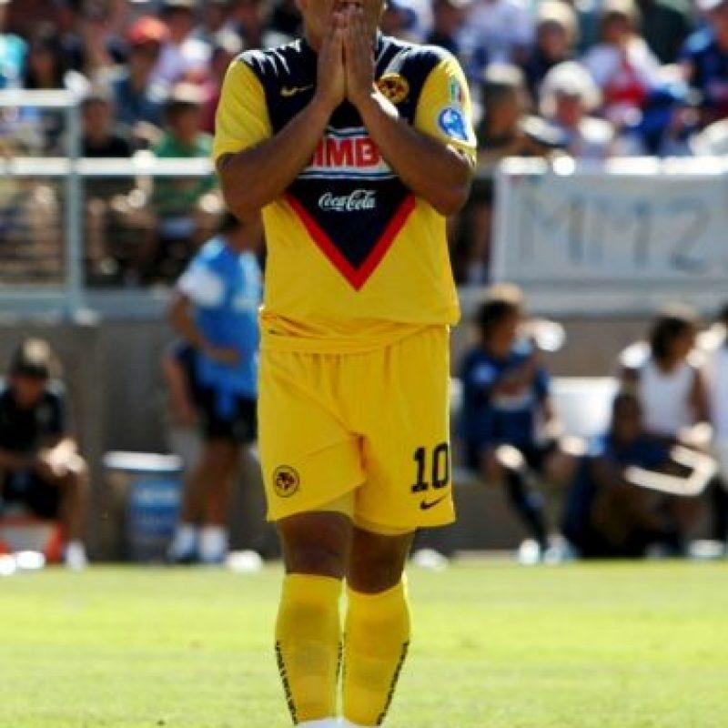 Pero se consolidó en el América de México Foto:Getty Images. Imagen Por: