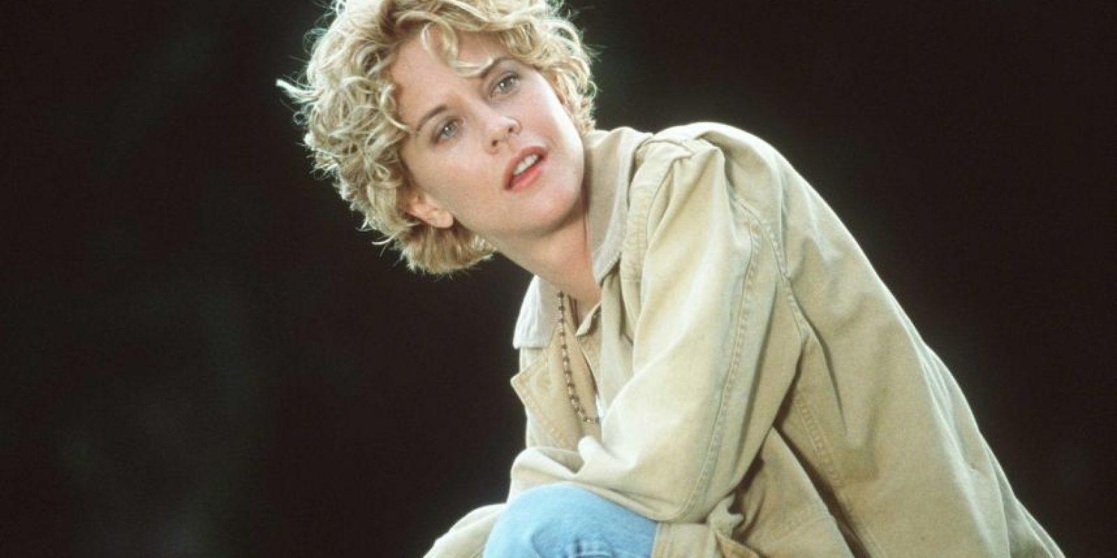 Meg Ryan lucía así hasta 1998, siete años después de haberse casado con el actor Dennis Quaid. Foto:Getty Images. Imagen Por: