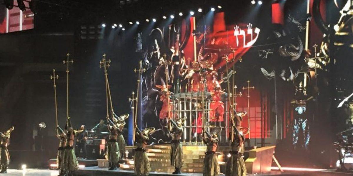 Madonna simula bautizo con