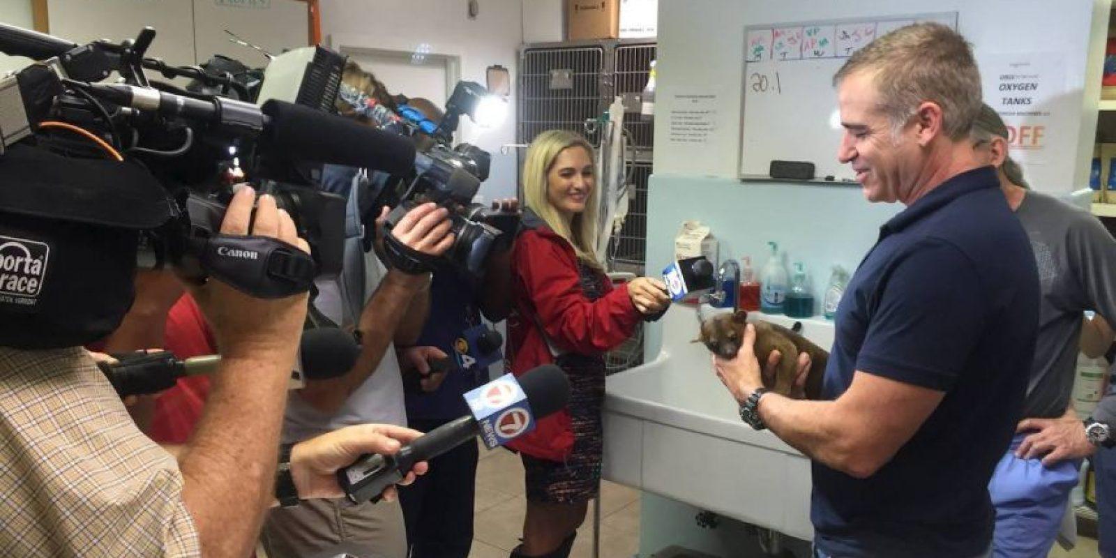 De hecho, recibió el trato de una celebridad Foto:Facebook.com/aeamc. Imagen Por: