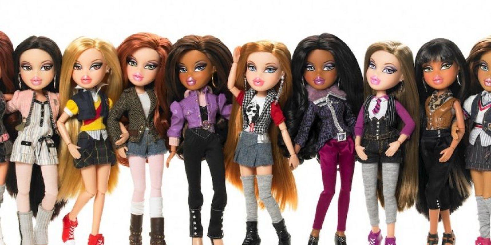Las Bratz se lanzaron en 2001 como competidoras de Barbie con éxito rotundo. Son muñecas que representan la estética adolescente y urbana. Foto:MGAE. Imagen Por: