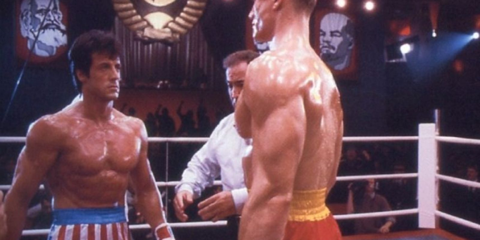 En el cuarto filme, Apollo muere por las heridas causadas en la pelea contra Iván Drago. Foto:vía United Artists. Imagen Por: