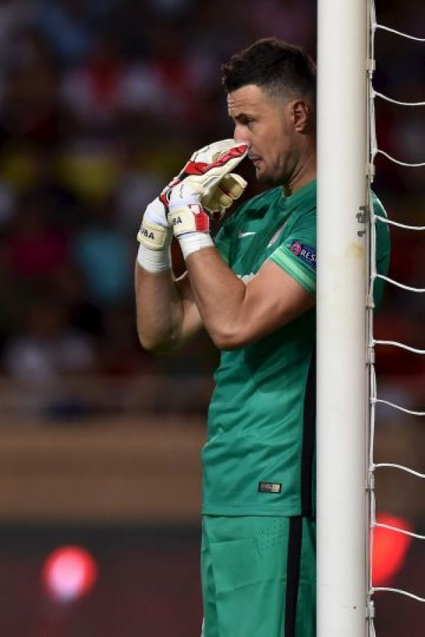 10. Daniel Subasic (Mónaco/Croacia) Foto: Getty Images. Imagen Por: