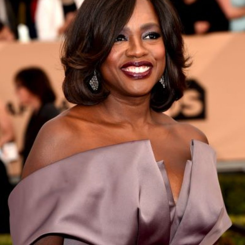 Viola Davis — How to Get Away with Murder; como Annalise Keating Foto: Getty Images. Imagen Por: