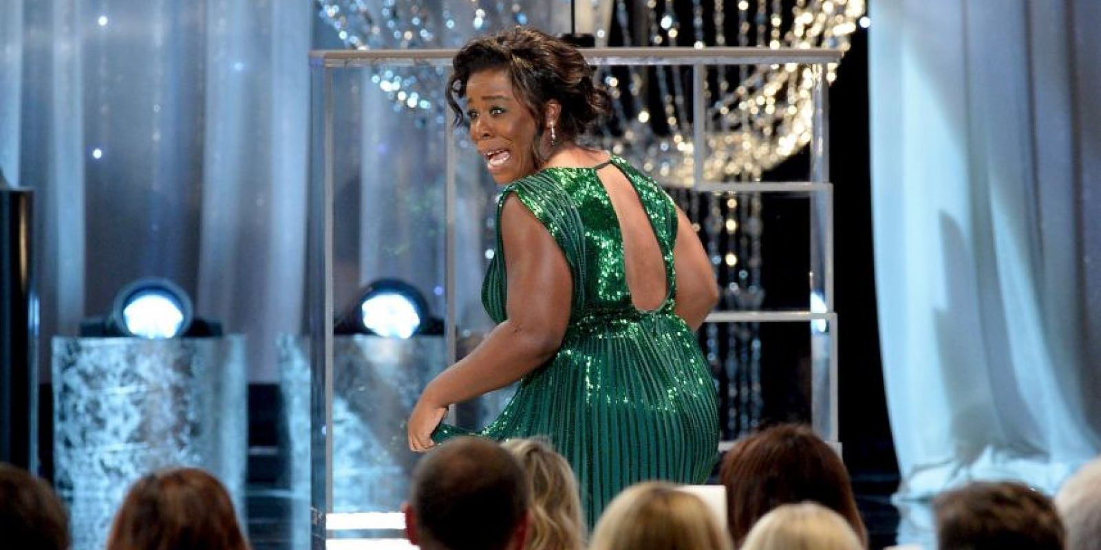 "Uzo Aduba — Orange Is the New Black; como Suzanne ""Crazy Eyes"" Warren Foto: Getty Images. Imagen Por:"
