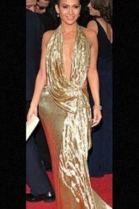 Vestido de Marchesa. Foto:Getty Images. Imagen Por: